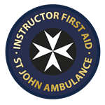 Instructor First Aid Gold Badge