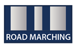 Road Marching Silver Badge