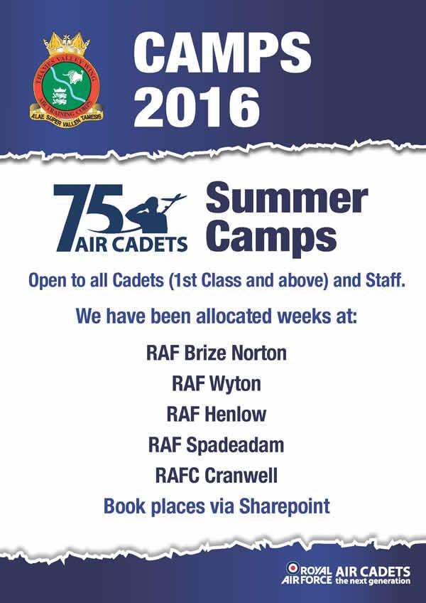 Summer Camp A4 poster