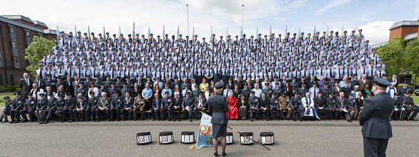 Air Cadets parade in Windsor to mark their 75th Anniversary