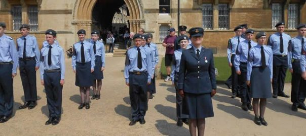Over 75 Air Cadets from across Oxfordshire mark their 75th Anniversary
