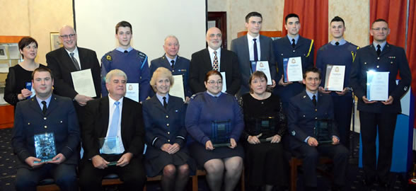 Celebrating the success of cadet and volunteers