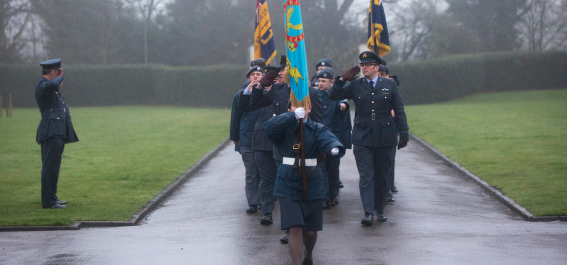 Windsor Cadets celebrate RAF100 at Runnymede