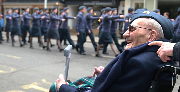 South West Air Cadets Mark the Centenary of the Royal Air Force in Windsor