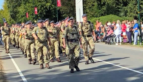 Arnhem Airborne March 2018