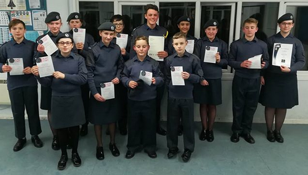 Awards at 136 Squadron
