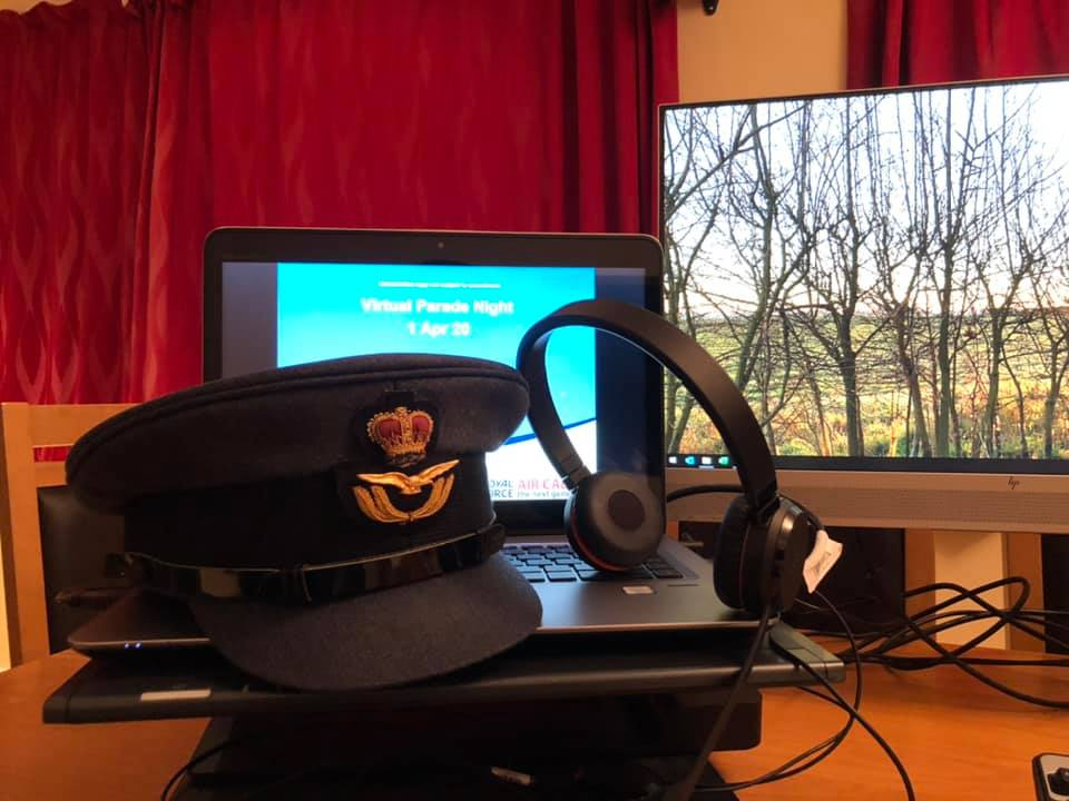 First Virtual Parade Evening for 2210 Squadron