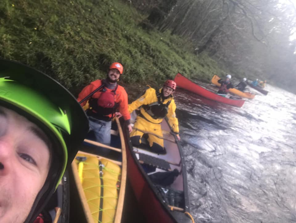 Paddling on the River Dart