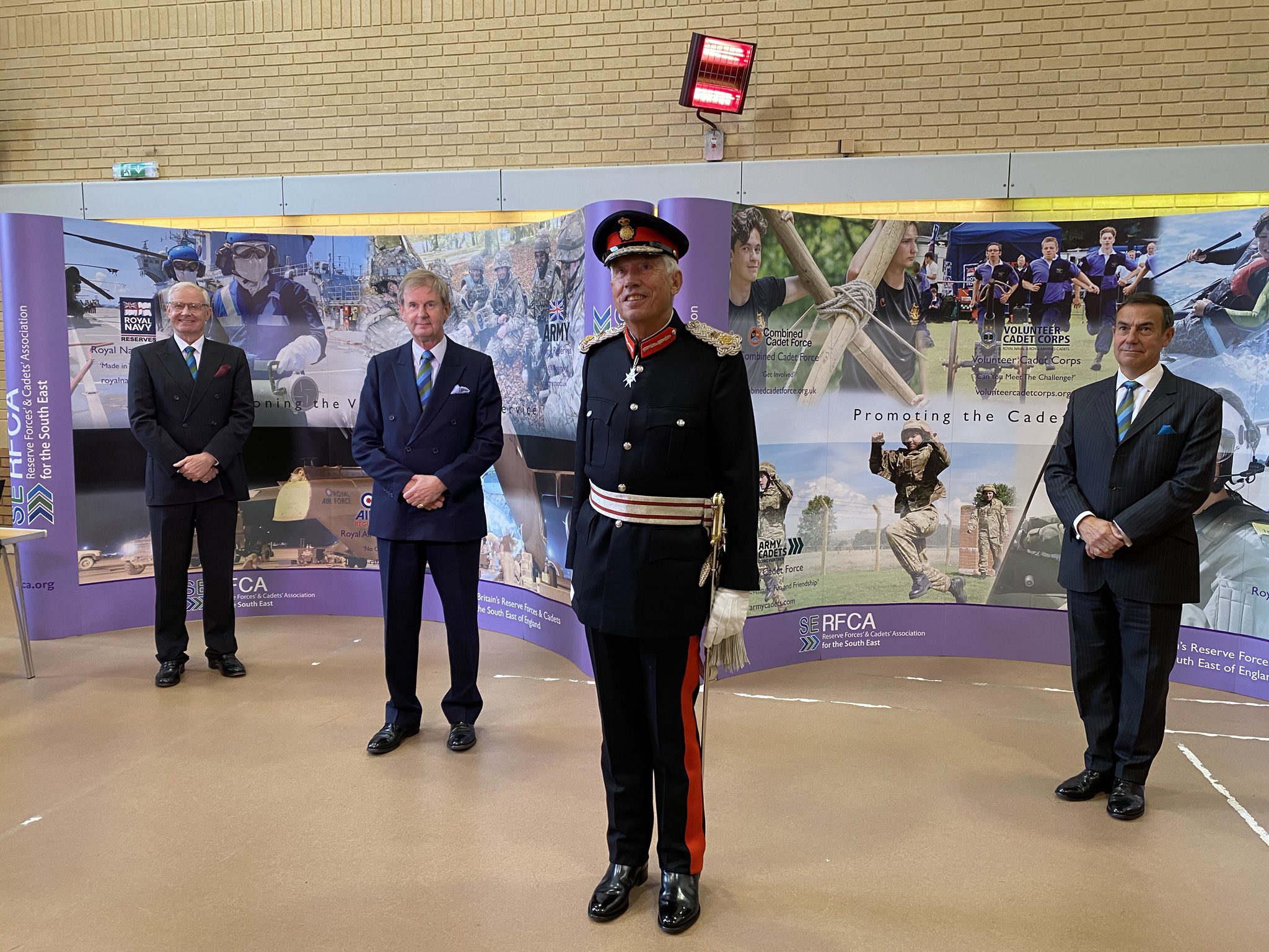 Lord-Lieutenants ATC Cadet for Berkshire Selected